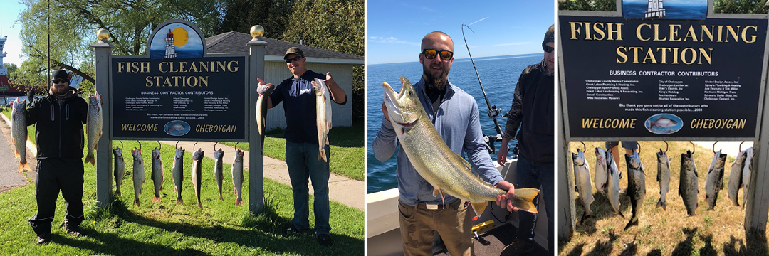 Lake Huron Fishing Charter Success